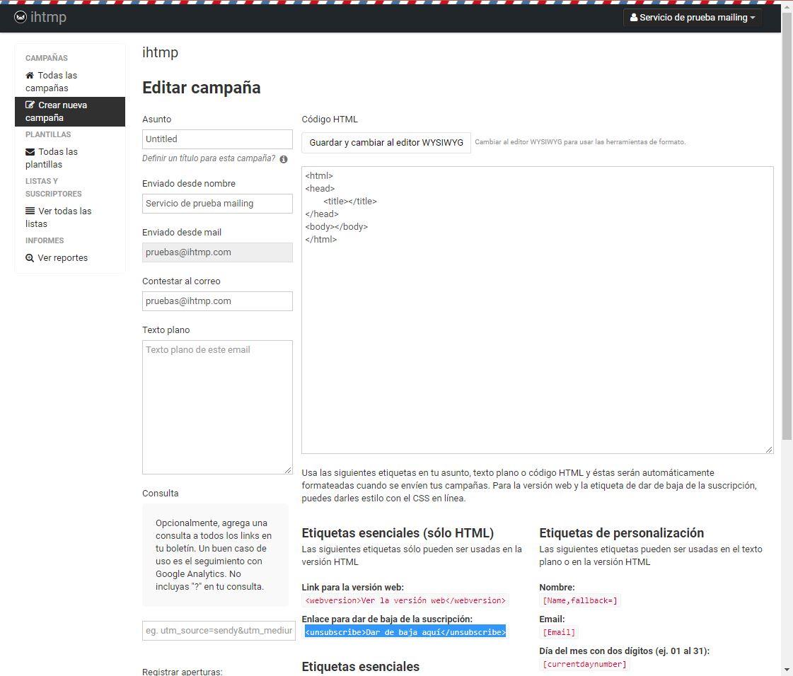 Cómo enviar correos masivos - Blog de hosting - ihosting